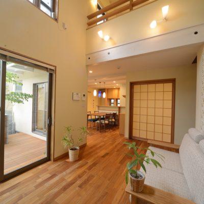 豊田和久建築工房の古和釜の家