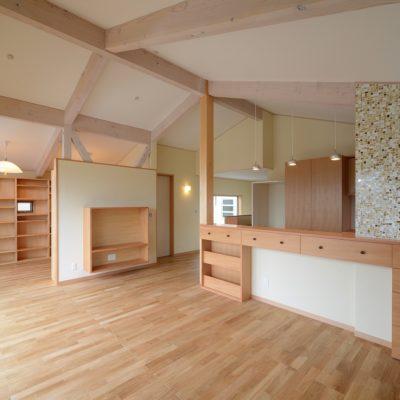 豊田和久建築工房の臼井の家