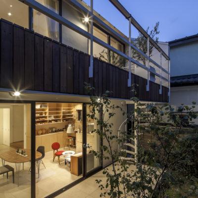 設計事務所アーキプレイスの06s 緑あふれるアトリエのある家
