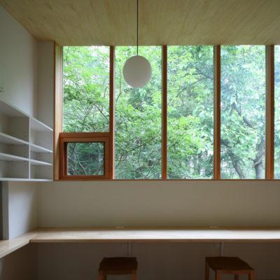 設計事務所アーキプレイスの04s 木立に佇む家