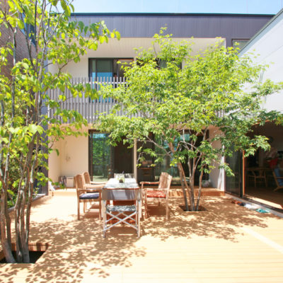 設計事務所アーキプレイスの07s 蕨市のコートハウス