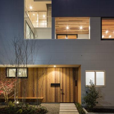 設計事務所アーキプレイスの02s 独立した二世帯が集う家