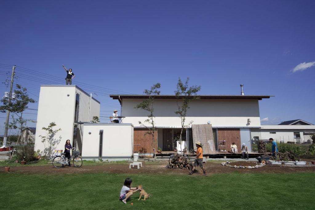 地元であるつくばに根ざして建築設計の仕事