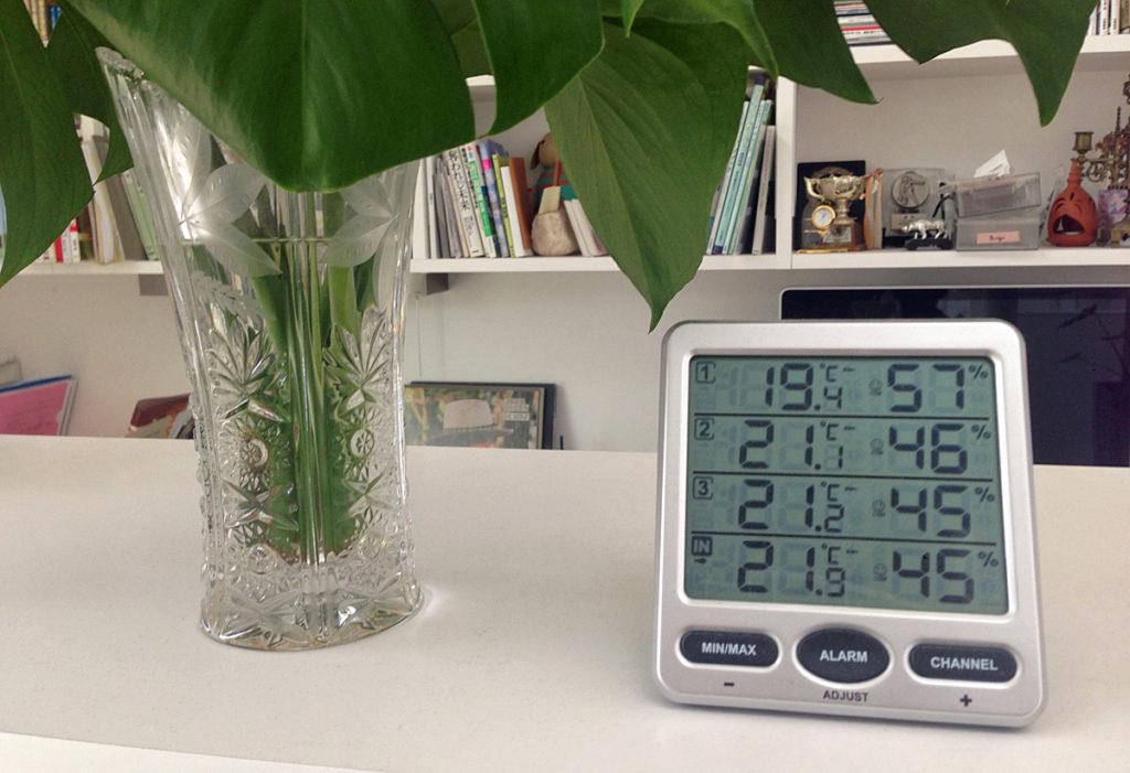 HEMSも良いけど、まずは温度計を用意しましょう