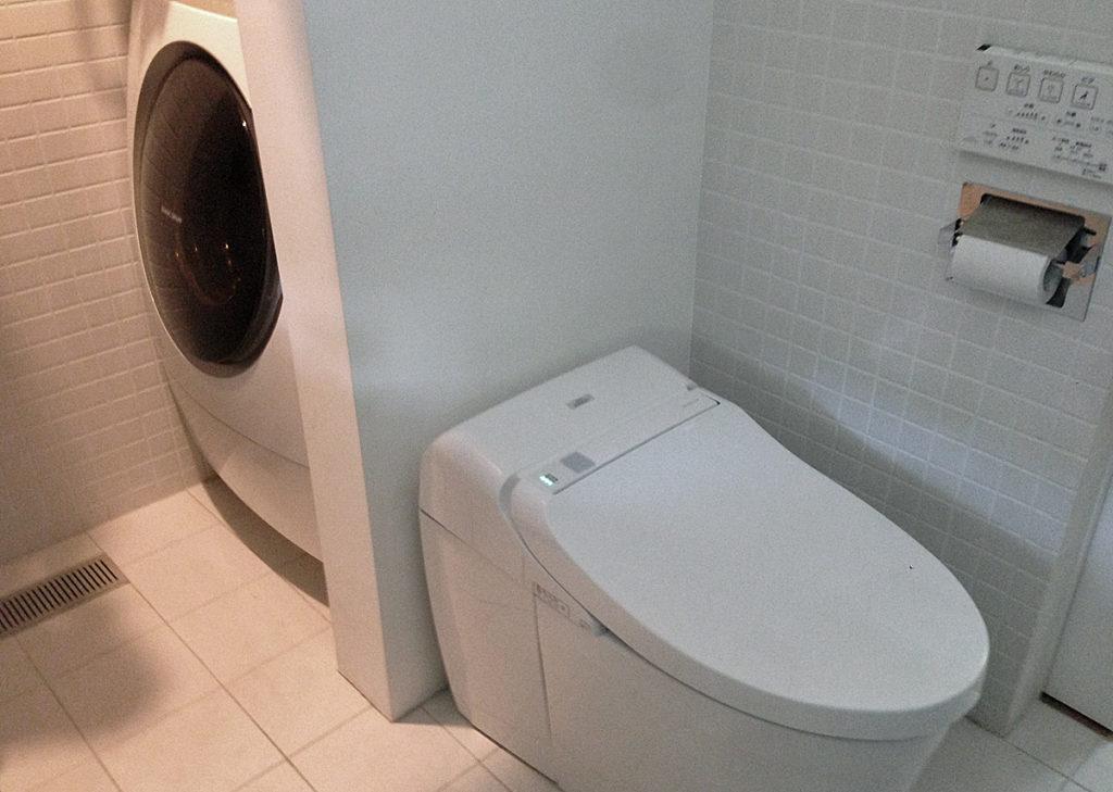 3.洗濯機ウォッシュレット