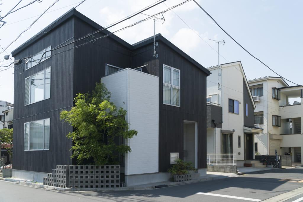 住宅街 イメージ