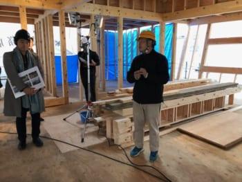 木造耐火建築物 構造見学会