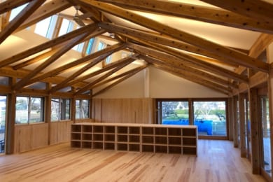 アトリエフルカワ様の「桑の木保育園完成見学会」に参加